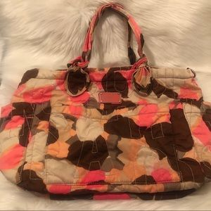 Marc Jacobs Nylon Quilted Eliz-A-Baby Diaper Bag
